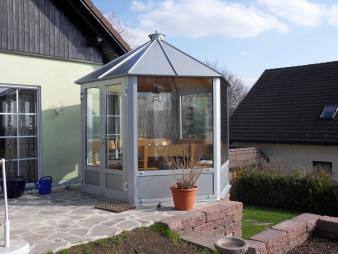 Pavillon aus Aluminium